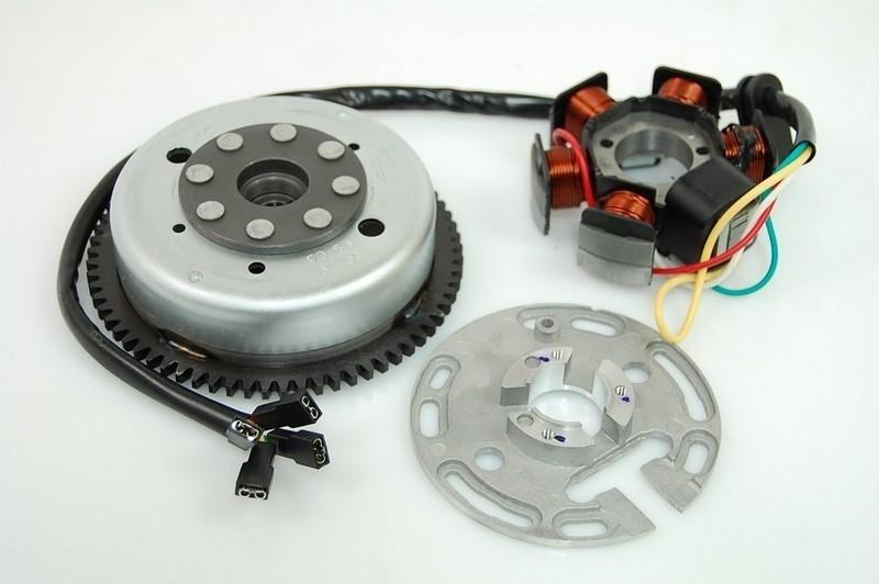 Stator für Lichtmaschine 6-Spule 4-Draht Rotor für Lichtmaschine ...